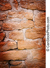 Grunge background - Abstract grunge background of old brick...