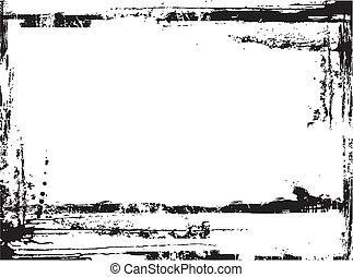 Grunge Background Black and White