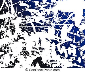grunge background blue and white
