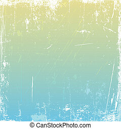 Grunge background with scratches and stains using pastel...