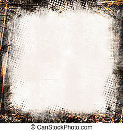 Grunge background - Detailed grunge background