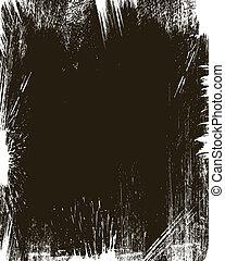 Grunge Background Frame Vector