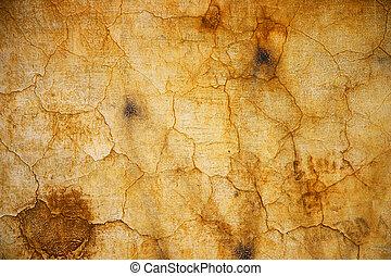 Grunge background - Grunge old cracking facade background