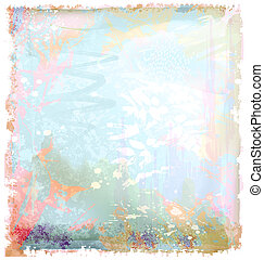 grunge background in watercolor style