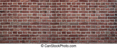 Grunge background of a wall of bricks