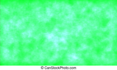Grunge background on green screen