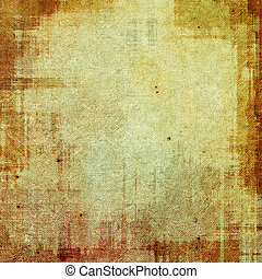 Grunge background or texture for your design. With yellow,...