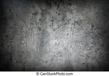 Grunge background - Close up of rough gray textured grunge...