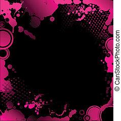 grunge  background with blots