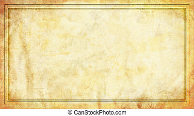 Grunge Background with Frame Border