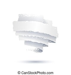Grunge background with shadows