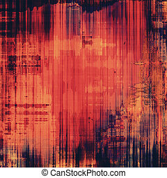 Grunge background with vintage and retro design elements. With different color patterns: purple (violet); yellow (beige); red (orange); pink