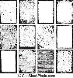 Grunge Backgrounds Vector