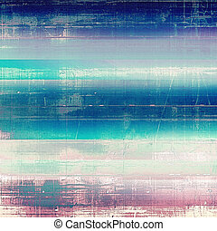 grunge, bakgrund, eller, årgång, struktur, in, traditionell, retro, style., med, olik, färg, patterns:, blue;, purpur, (violet);, gray;, pink;, cyan