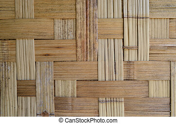 Grunge Bamboo Wooven Texture