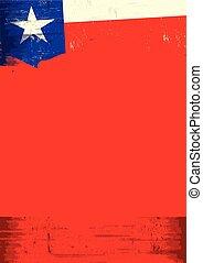 grunge, bandeira texas
