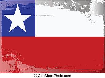 grunge, bandera, series-chile