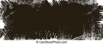 Grunge Banner Frame Design