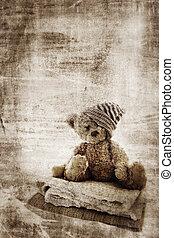 grunge, bear., teddy