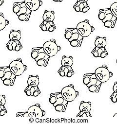 grunge bear teddy cute toy background