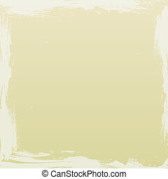 Grunge Beige Background - Beige coloured background with off...
