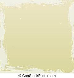 Grunge Beige Background - Beige coloured background with off...