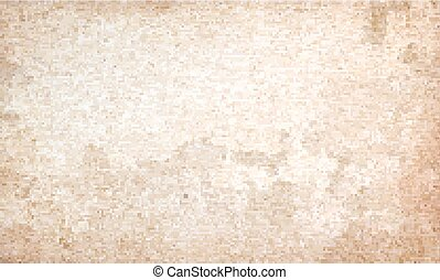 Grunge beige background. wall with texture. Vector Illustration