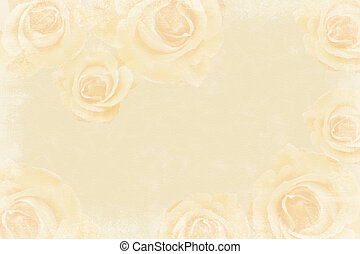 Grunge beige wedding background