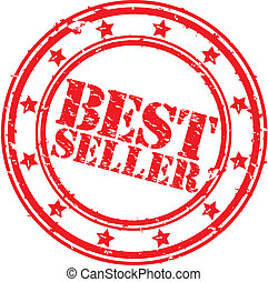Grunge best seller rubber stamp, ve