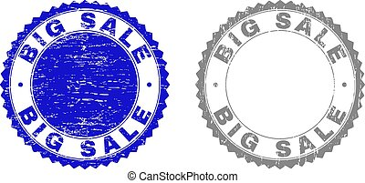 Grunge BIG SALE Textured Stamp Seals