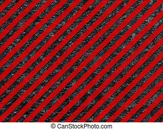Grunge Black and Red Surface as Warning Pattern