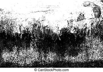 Grunge black and white abstract distress background or texture.