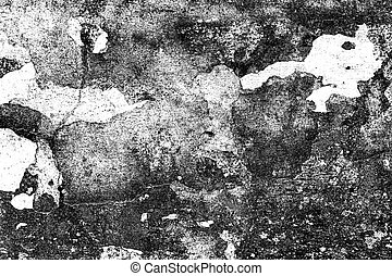 Grunge black and white distress texture . Grunge scratch and texture or ackground. Vintage or grungy of Old cement wall background.
