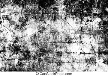 Grunge black and white distress texture . Scratch and texture.