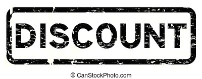 Grunge black discount square rubber seal stamp on white background