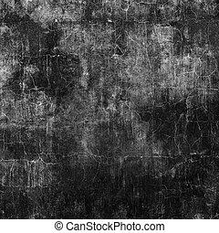 grunge, black , muur, .urban, textuur