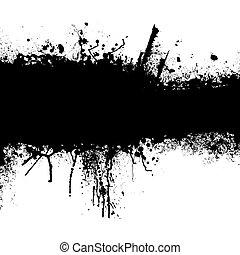 grunge, black , strook