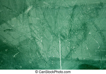 Grunge Blackboard - A chalkboard close-up, dirty and grungy.