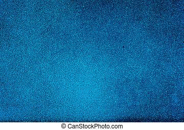 grunge, bleu, mur peint