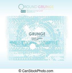 Grunge blue textures