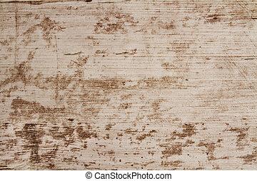 grunge, bois, arrière-plan., bois, planche, bureau, table, texture