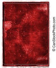 Grunge  border - Grunge border and aged textured background