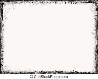 Grunge border - Vintage frame border