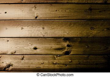 grunge, brązowy, budowa drewna, z, kasownik deseniuje