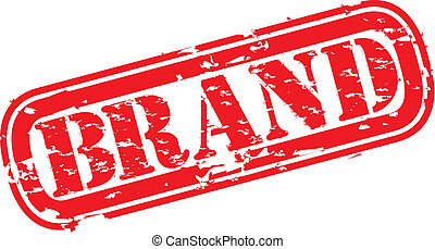 Grunge brand rubber stamp, vector illustration