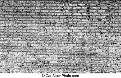 Grunge brick wall background.