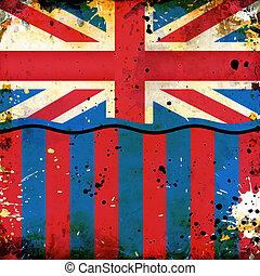 grunge, britische markierung