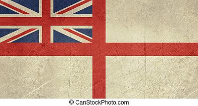 Grunge British Royal Navy flag - Grunge British Royal Navy ...