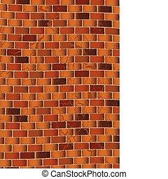 grunge brown brick wall