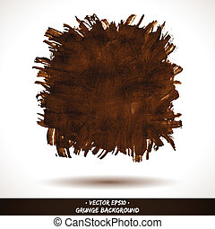 Grunge Brown Vector Background
